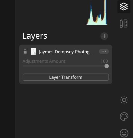 layer based editing