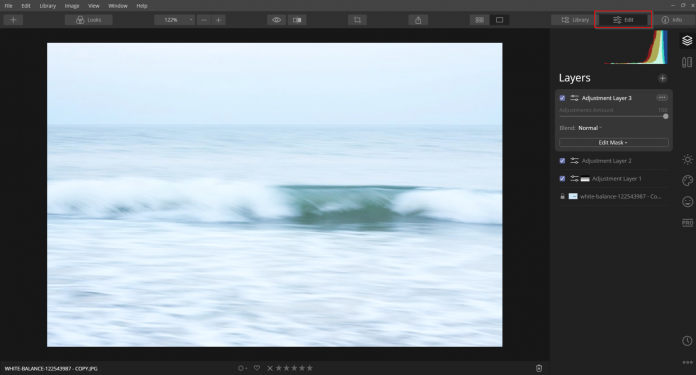 using layers in luminar