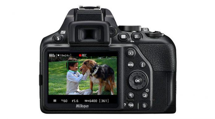 nikon d3500 vs canon t7 - Nikon D3500 rear LCD screen