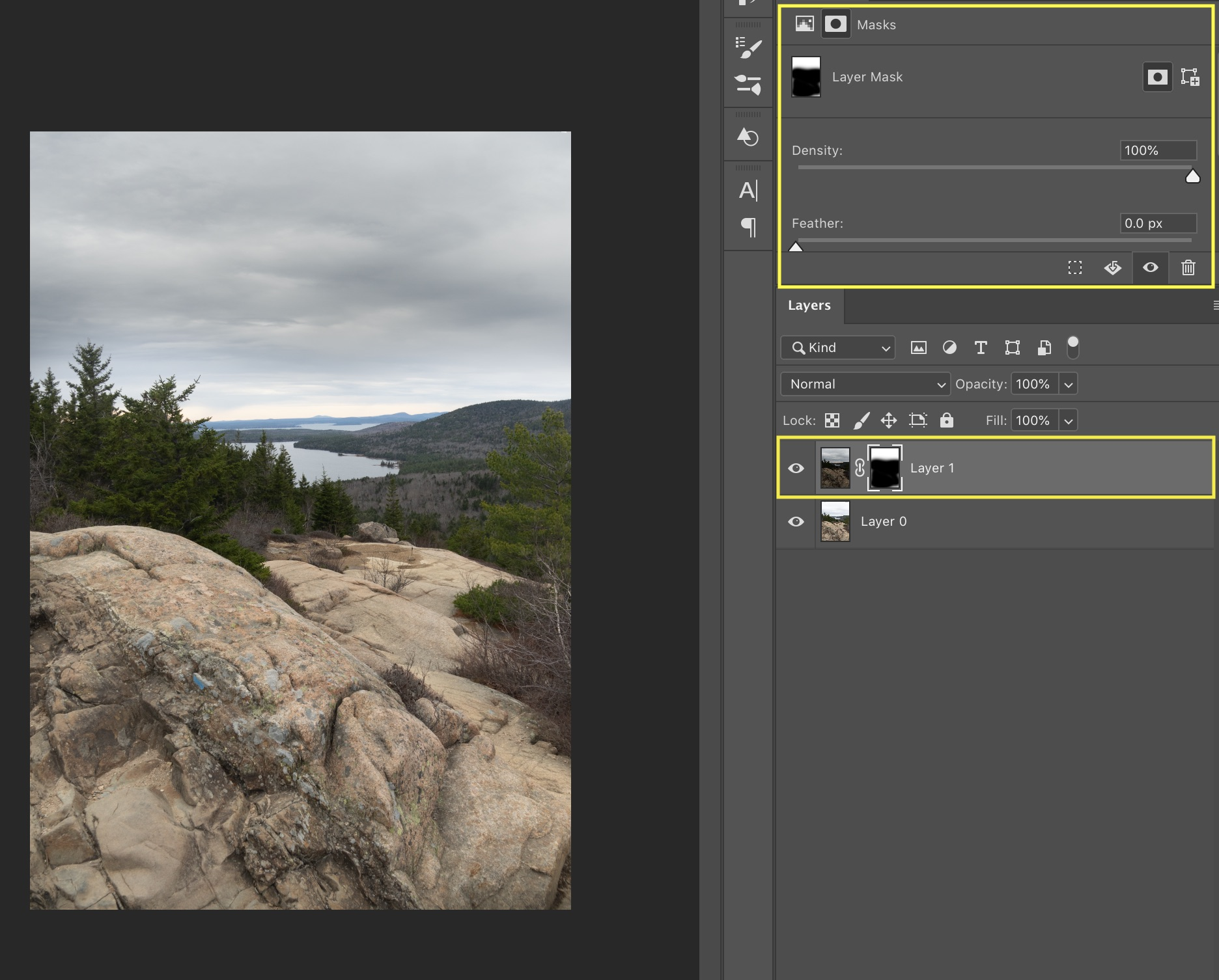 masking image layer