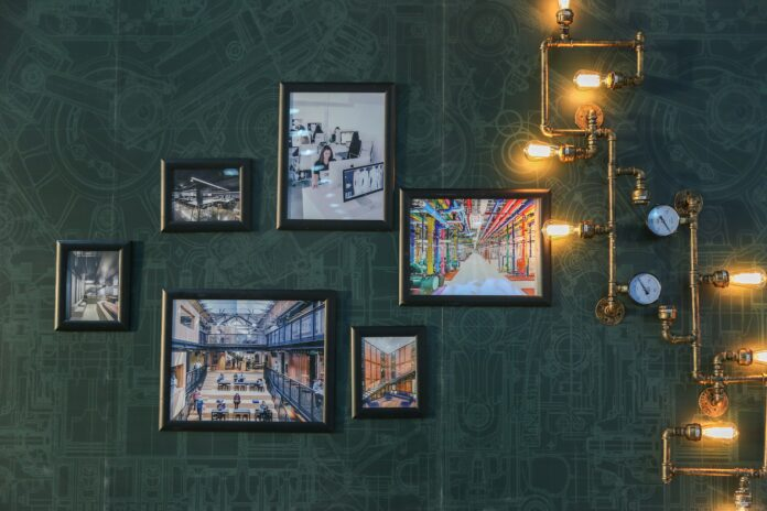 How to make a photo wall gallery
